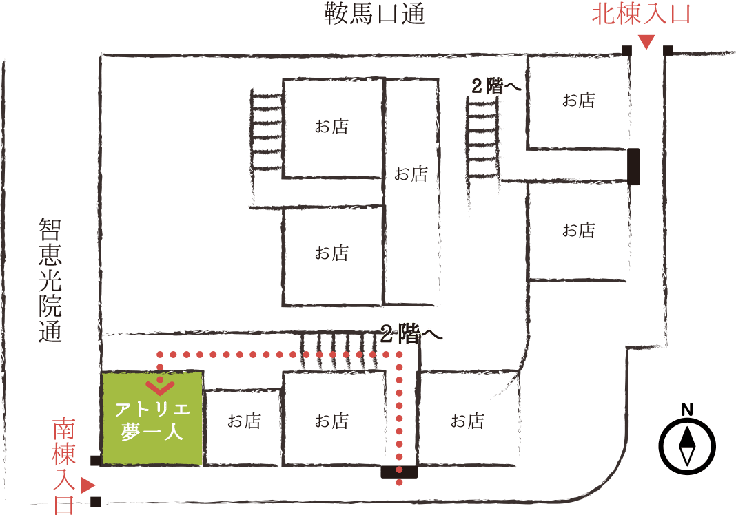 藤森寮内MAP